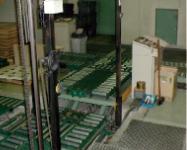 コンベアーシステム リフターコンベアーの写真